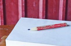 Alter Bleistift Stockbild