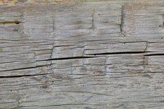Alter Blockhausholzhintergrund Lizenzfreies Stockbild