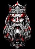 alter Blutkönig vektor abbildung