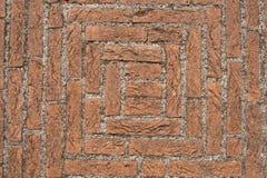 Fußboden Aus Ziegelsteinen ~ Alter boden mit ziegelsteinen und beton stockfoto bild von