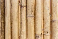 Alter brauner Bambushintergrund Lizenzfreies Stockbild