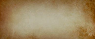 Alter brauner Hintergrund in einer beunruhigten Papierbeschaffenheitsillustration mit Weinleseschmutz stockbilder