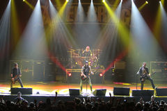 Alter Bridge live concert - the band Stock Images