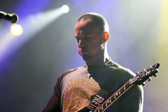 Alter Bridge live concert, Mark Tremonti Royalty Free Stock Photos
