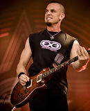 Alter Bridge Mark Tremonti live in concert 2017 heavy metal Royalty Free Stock Photos