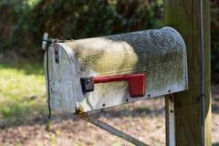 Alter Briefkasten, US-Briefkasten, amerikanisch Stockfoto