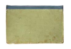 Alter Bucheinband getrennt auf Weiß Lizenzfreies Stockbild