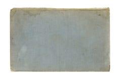 Alter Bucheinband getrennt auf Weiß Stockbild