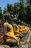 Alter Buddha stockfotografie
