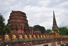 Alter Buddha-Tempel, Thailand Lizenzfreies Stockbild