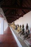 Alter Buddha-Tempelsüden von Thailand Lizenzfreies Stockfoto