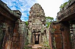 Alter buddhistischer Khmertempel Lizenzfreies Stockfoto