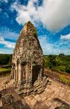 Alter buddhistischer Khmertempel Stockfotografie