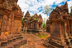 Alter buddhistischer Khmertempel Lizenzfreie Stockfotografie