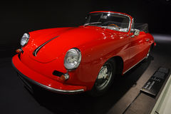 Alter Cabriolet Porsches 356 B Carrera 2 Stockbild