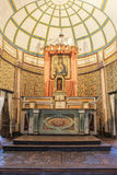 Alter at Cataldo Mission. Stock Photo