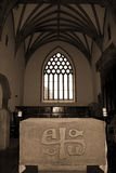 Alter in the chapel of Holycross abbey Stock Photo