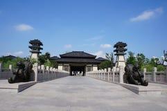 Alter chinesischer Platz Lizenzfreies Stockfoto