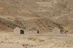 Alter Clay Houses - Peru Stockfotos