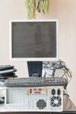 Alter Computer und Zubehör für die elektronische Wiederverwertung Lizenzfreie Stockbilder