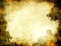 Alter Dampf bildet Hintergrundrahmen aus Lizenzfreies Stockbild
