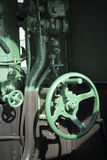 Alter Dampf bildet Teile aus. Stockbilder