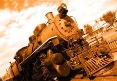 Alter Dampfmotor Lizenzfreie Stockfotografie