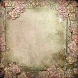 Alter dekorativer Hintergrund Lizenzfreie Stockfotos