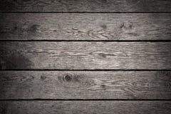 Alter dunkler hölzerner Hintergrund Stockfotografie