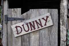 Alter Dunny Stockfoto