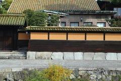 Alter Edo-ähnlicher Souvenirladen in Kurashiki, JAPAN lizenzfreie stockfotografie
