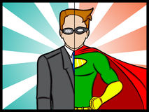 Alter Ego Super Hero Stock Photos