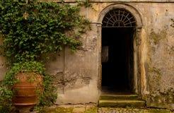 Alter Eingang Rom Lizenzfreie Stockfotos