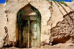 Alter Eingang von Oman Lizenzfreies Stockfoto