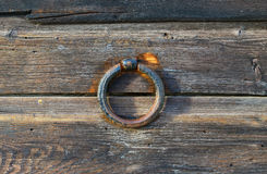 Alter Eisenring Lizenzfreies Stockbild