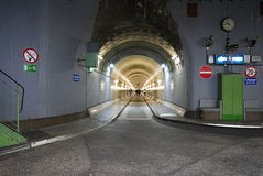 Alter Elbe-Tunnel Stockfotografie
