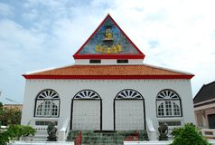 Alter errichteter Tempel Stockbilder