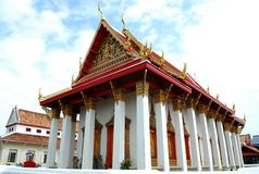 Alter errichteter Tempel Lizenzfreie Stockfotos