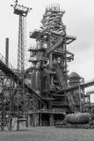 Alter Fabrikhochofen lizenzfreies stockfoto