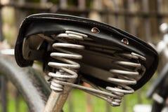 Alter Fahrradsattel Oxford Lizenzfreies Stockbild