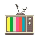 Alter Fernsehapparat Stockfotografie
