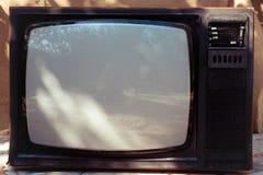 Alter Fernsehapparat Lizenzfreies Stockbild