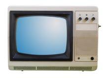 Alter Fernsehapparat getrennt Stockfotografie
