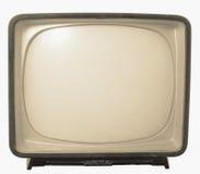 Alter Fernsehapparat - Retro- Fernsehen stockfotos