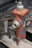 Alter Feuerhydrant Stockfotografie