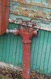 Alter Feuerhydrant lizenzfreie stockfotos