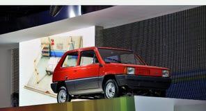 Alter Fiat auf IAA Frankfurt 2011 Stockbild