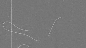 Alter Film-Effekt Alte Film-Videoaufnahmen HD vektor abbildung