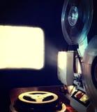 Alter Film-Projektor Lizenzfreie Stockbilder