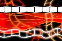 Alter Filmfilmbandspulestreifen lizenzfreie abbildung